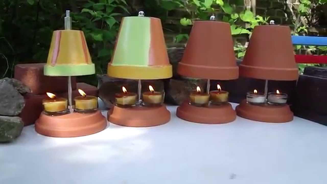 Teelichtofen im sommer mit windschutz   test im garten   digitale ...