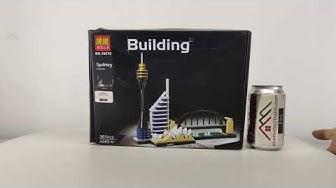 Mở hộp Bela 10676 Lego Architecture 21032 Architecture:Sydney giá sốc rẻ nhất