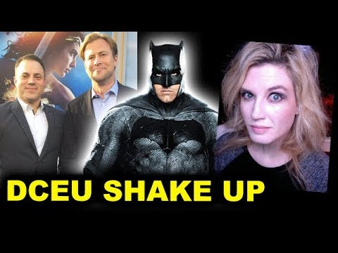 Ben Affleck Batman LEAVING after Flashpoint Movie, Geoff Johns & Jon Berg  DCEU ShakeUp