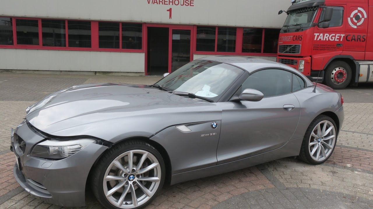 750390 Bmw Z4 Roadster Sdrive35i Aut E89 Cabrio 306hp 06 09 Grey