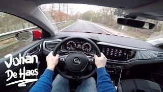 2017 VW Polo 1.0 TSI 95hp Highline POV test drive