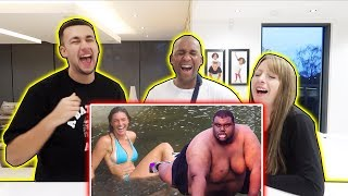 REACTING TO MORE FUNNY FAILS! WITH FAMILY - Famtastic