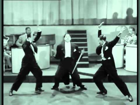 NICHOLAS BROTHERS WITH GREGORY HINES AND WITH THIRTEEN DANCES
