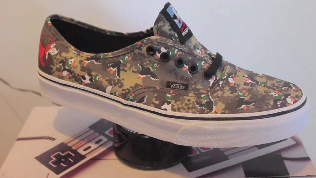 vans nintendo duck hunt