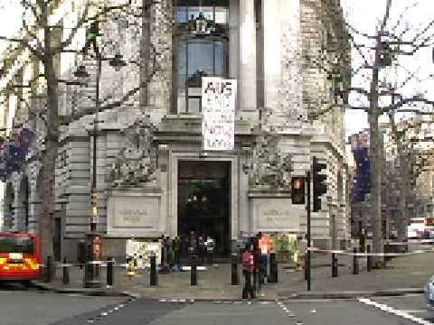 Protest at the Australian High Commission in London_Full