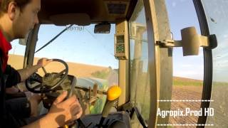 Johndeere 7710 at silage [CabView] Johndeere SOUND !!!!