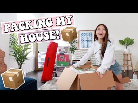 Pack My House With Me!   IM MOVING OUT!