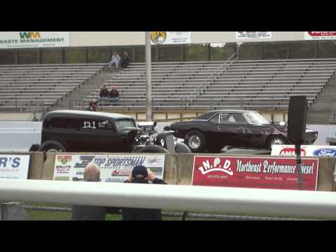 Wheel Stand at New England Dragway
