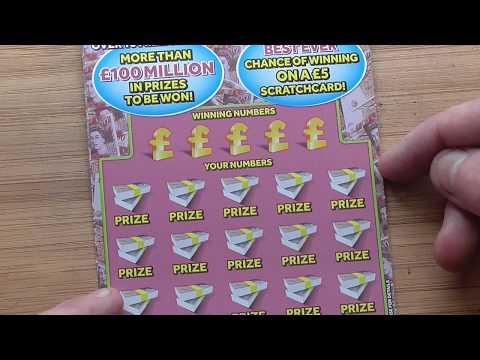 scratchcards ,  found a winner