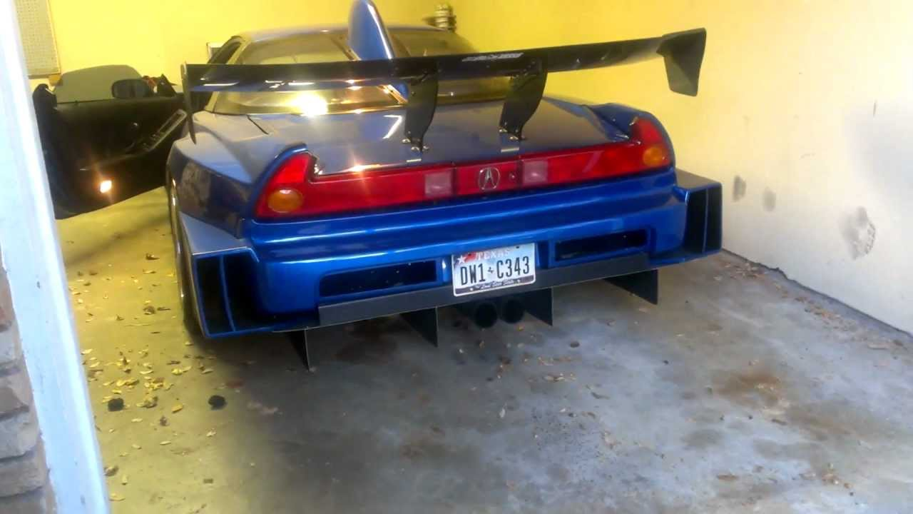 1991 Acura Nsx Sorcery Gt Widebody Youtube