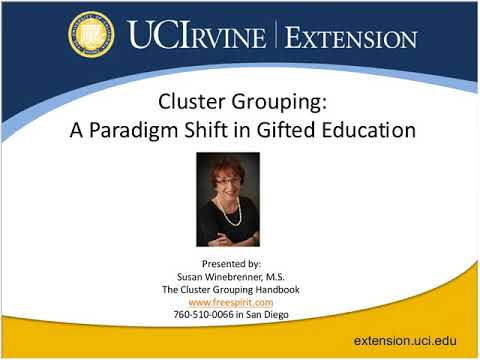 Cluster Grouping: A Paradigm Shift in Gifted Education (2/1/2012)