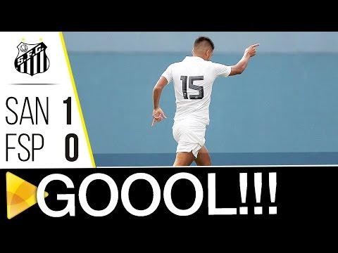 Santos 1 x 0 Flamengo-SP | GOL | Copa SP (11/01/17)
