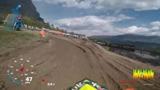GoPro Antonio Cairoli FIM MXGP 2017 RD5 Italy Moto 1
