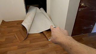 Сварка линолеума: видео, пошаговая инструкция