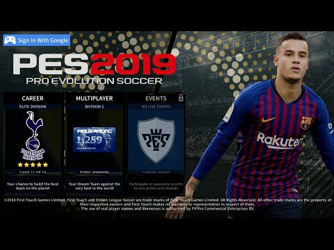 DLS 19 MOD PES 2019 Edition Android Offline 350mb Best Graphics All Logo  Original