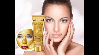 Маска для лица CLEDBEL ULTRA LIFT 24K GOLD