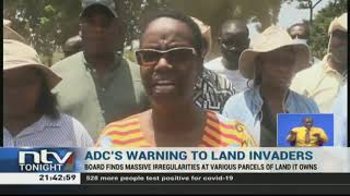 ADC warns officials against giving away their land to squatters