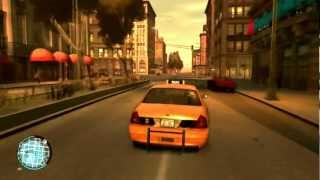 GTA IV PC Gameplay HD Radeon 6850 high settings w/ some mods