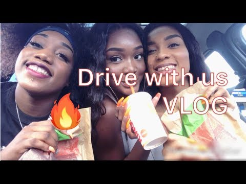 'DRIVE WITH US' VLOG #1 | Altou Mvuama