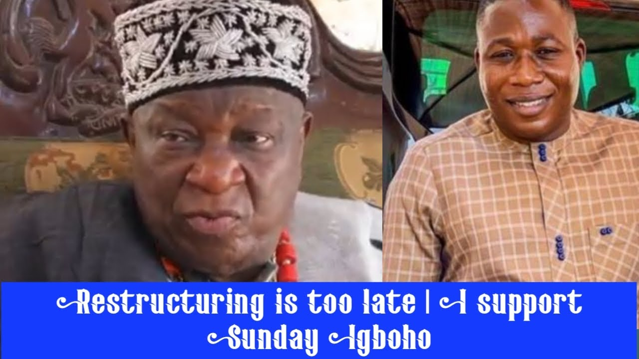 Download Oba Gbolahan Timson - Restructuring is too late   I support Sunday Igboho   Oba Shomolu Bariga