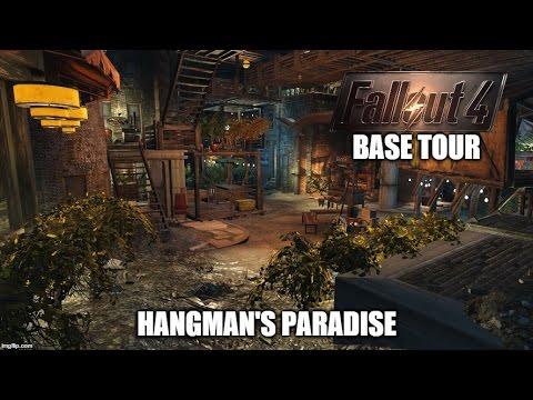 Fallout 4 Hangman's Alley Paradise Settlement Tour