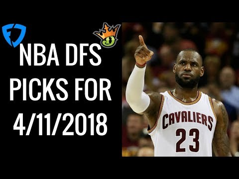 NBA DRAFTKINGS AND FANDUEL DFS PICKS FOR...