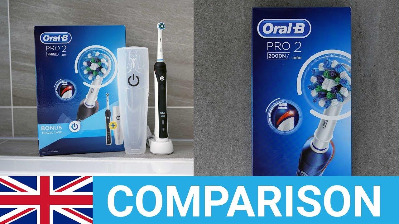 Oral-B Pro 2 2000 vs Pro 2 2500 - YouTube 6f540e94600a