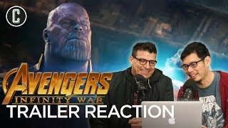 Avengers: Infinity War Trailer Reaction & Review