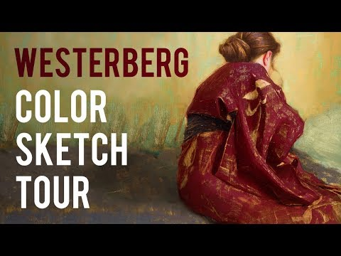 How to Study Color - Sketch Tour with Aaron Westerberg