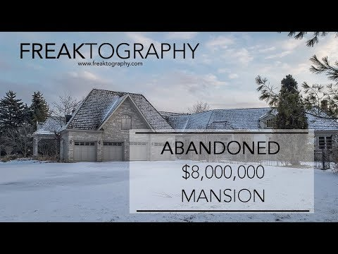 Exploring an Abandoned $8,000,000 Mansion | 4 Car Garage | Renovation Nightmares