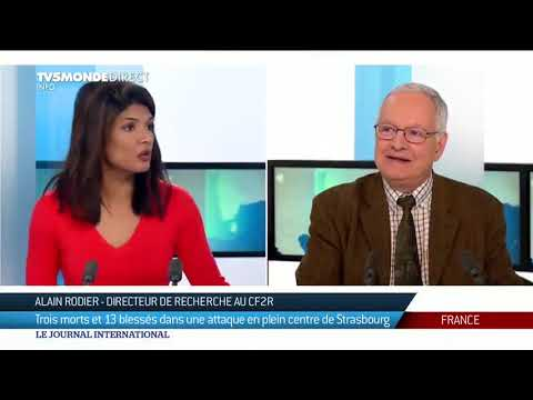 Fusillade de Strasbourg et profil du suspect, Alain Rodier revient sur les événements