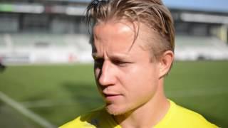 Matchvinder Jeppe Kj�r om pr�station og tr�thed i truppen