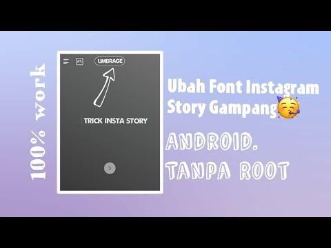 Ubah Font Instagram Story Gampang || Tutorial Instagram