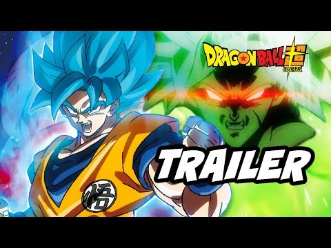 Dragon Ball Super Movie Trailer - New Broly Backstory and Promo Breakdown