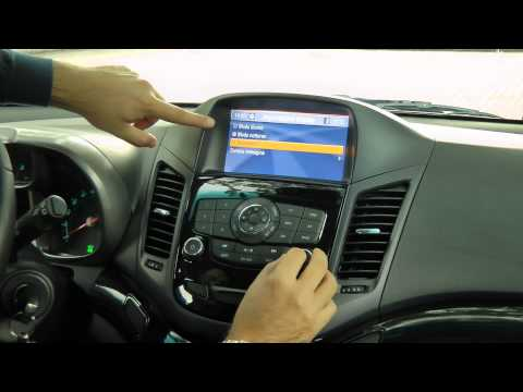 Chevrolet Orlando focus infotainment da HDmagazine.it