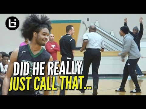 Coby White vs Greg Gantt & Controversial Buzzer Beater