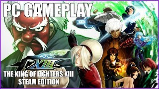 THE KING OF FIGHTERS XIII STEAM EDITION - PC Gameplay