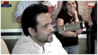 Emraan Hashmi with RJ Malishka