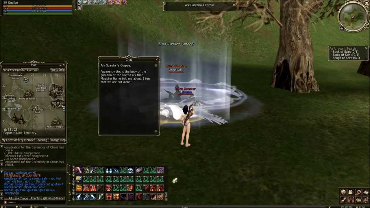 An arrogant Search (Baium Quest) - Exilium World