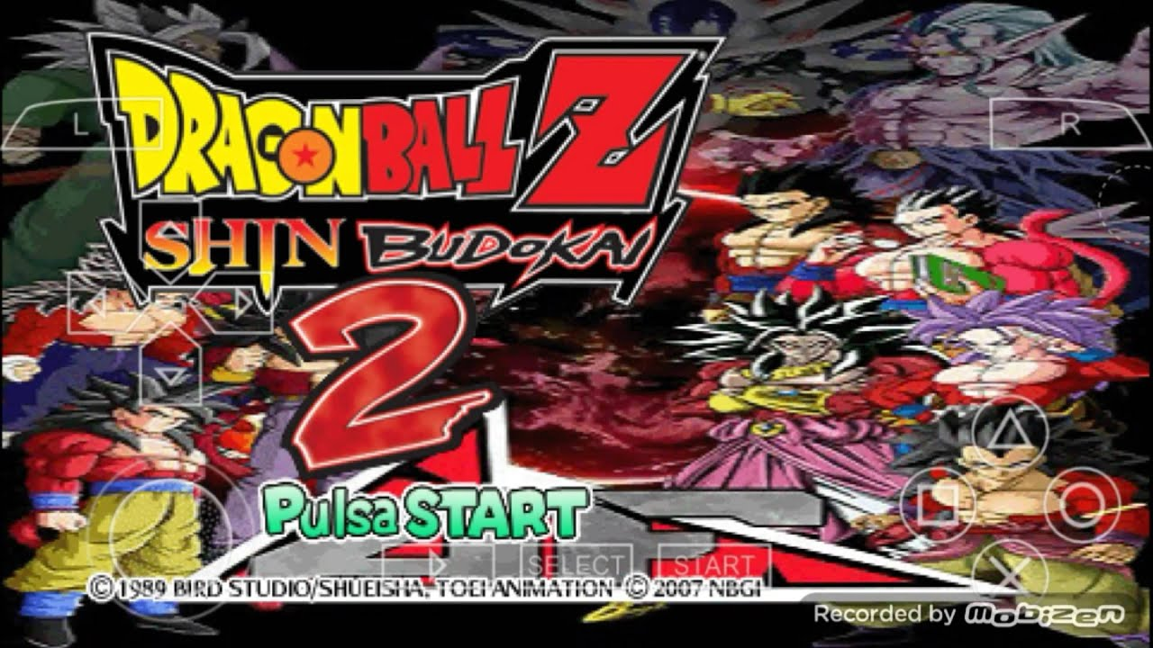 download game dragon ball z ppsspp mod iso