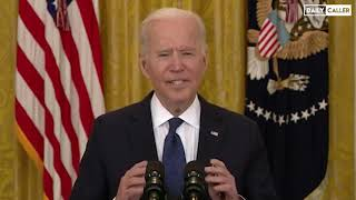 Biden & Psaki Respond To Critics Who Say Unemployment Benefits Will Keep People At Home
