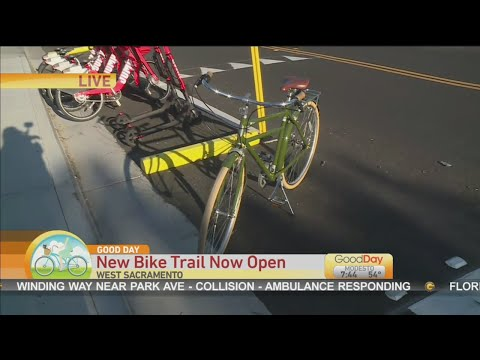 New Bike Trail in West Sac