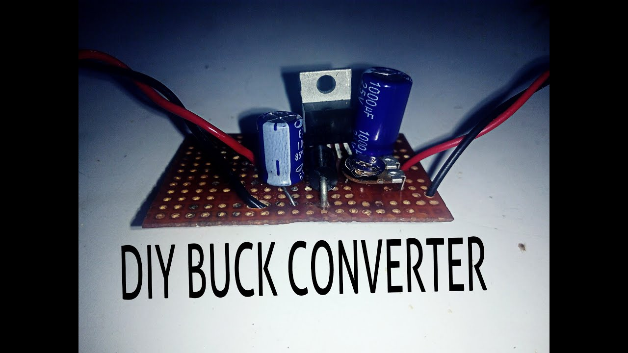 How To Step Down Dc Voltage Efficiently Youtube Converter Circuit