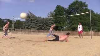TOP GUN VOLLEYBALL SCENE REMAKE