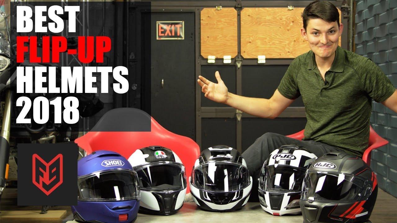 a01b6cc358 Best Modular Motorcycle Helmets of 2018 - YouTube
