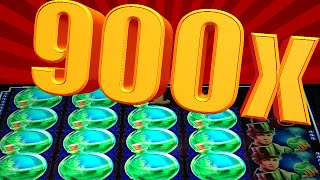 ★★ MASSIVE 900x WIN ★★  CRAZY LOCKED WILD ACTION - MR. HYDE