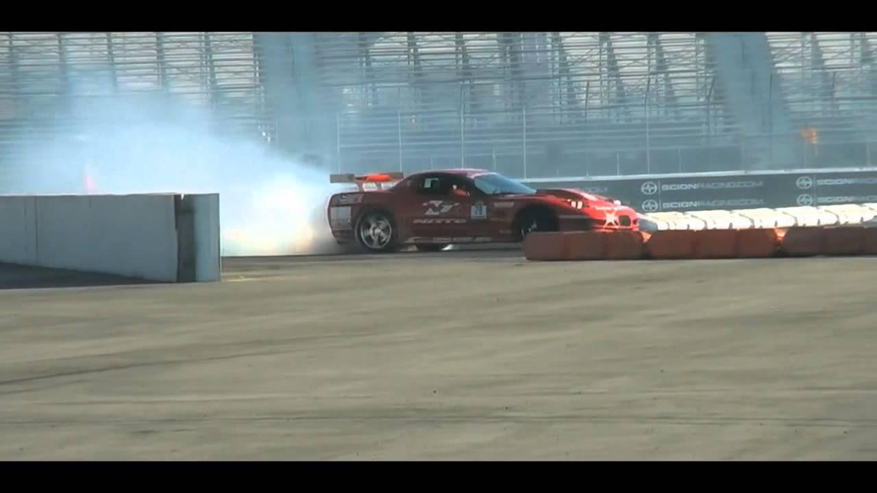 Supercharge C5 Corvette Drift and Crash