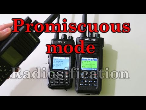 DMR Basics: What is promiscuous mode?
