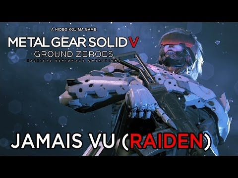 Metal Gear Solid 5: Ground Zeroes - Jamais Vu (Raiden) Extra