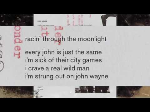 Lady gaga john Wayne official karaoke